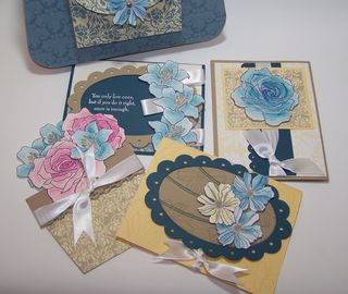 Bella Blue Cards for Purse