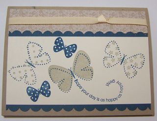 Butterfly Pop Up Card (outside)