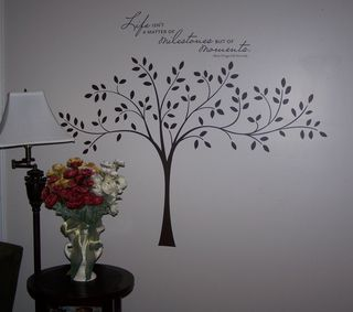 Milestone & Tree Decor Elements