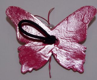 Back of Paper Butterfly hairband
