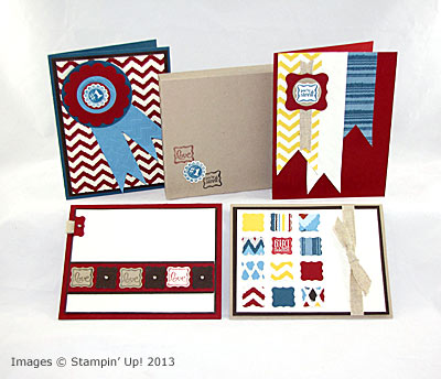 New Ciao, Baby! Masculine Card Set Tutoria