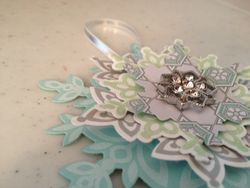 Snowflake Ornament/Bag or Bottle Tag