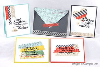 Washi Tape 5 Ways - Class Collection
