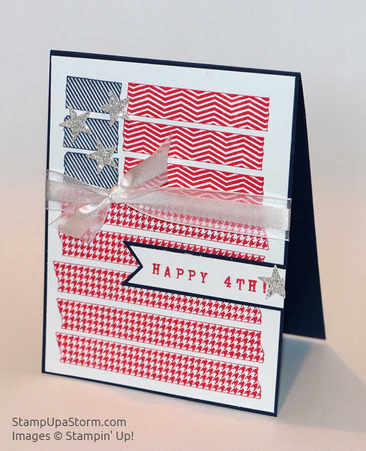 Happy-4th-Flag-Card-Side