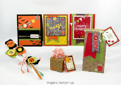 Planning for Fall & Holidays Stamping Tutorial Collection