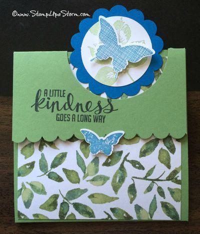 Flap Fold Card