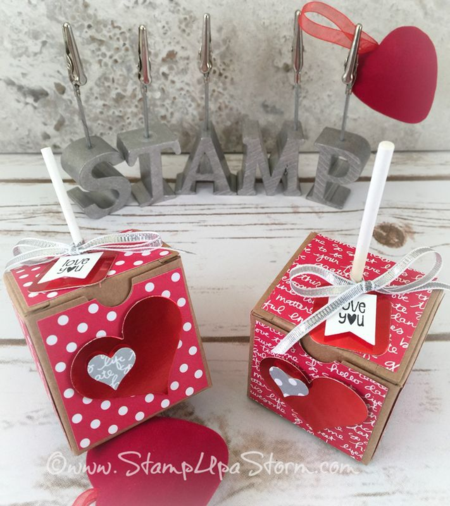 Valentine Tiny Treat Boxes